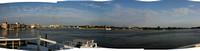 Panorama of Tulcea Harbour